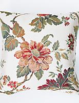 Polyester Housse de coussin,Floral Traditionnel
