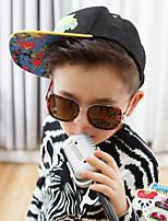Square Full-Rim Plastic Resin Fashion Sunglasses for Kids