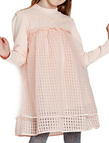 Girl's Dress,Cotton Spring / Fall Pink