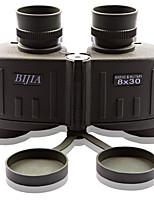 BIJIA 8 30 mm Jumelles Porro Prism Coffret de Transport / Vision nocturne / Etanche / Résistant aux intempéries 141m/1000m #Mise au point