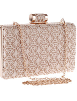 L.WEST® Women's Handmade High-grade Lace Hollow Out Party/Evening Bag