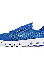 Scarpe da uomo-Sneakers alla moda / Scarpe da ginnastica-Tempo libero / Casual / Sportivo-Finta pelle / Tulle-Verde / Grigio / Royal Blue