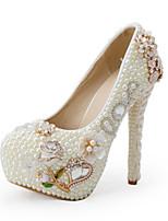 Women's Shoes Stiletto Heel Heels Heels Wedding / Party & Evening / Dress Beige