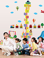 Wall Stickers Wall Decals Style The Cube Blocks Measuring Your Height PVC Wall Stickers
