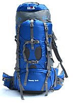 70+5 L Backpack Camping & Hiking / Climbing / Leisure Sports / Traveling Outdoor Waterproof /Dust Proof /
