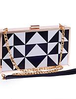 L.WEST® Women's Handmade High-grade Acrylic Triangle Party/Evening Bag