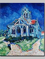 pils met de hand geschilderd beroemde huis olieverf op doek voor de woonkamer home decor muurschilderingen whit kader