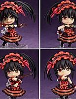 Date A Live Kurumi Tokisaki PVC 10cm Figures Anime Action Jouets modèle Doll Toy