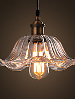 American Retro Industrial Lotus Cafes Coffee Shop Pendant Lamps Dining Room Restaurant Pub Bar Pendant