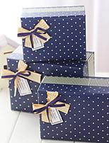 Cajas de Regalos(Azul,Papel de tarjeta) -Tema Clásico-Cumpleaños / Matrimonio / Aniversario / Despedida de Soltera / Baby Shower /