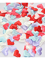 100 Pieces Romantic and Beautiful Super Simulation Loving Heart Simulation of Petals