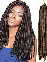 New Arrival Brown Color Faux Locs Dreadlock Braids Havana Mambo 18