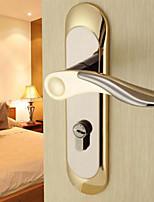 Dorlink® Contemporary Zinc Alloy Golden Keyed Entry Door Lock