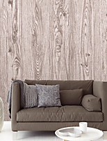 HaokHome® Vintage Woods Panel Wallpaper Rolls Natural Vinyl Kitchen Wall Paper Murals Realistic Home Decoration