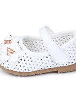 Baby Shoes Dress / Casual PU Flats Pink / White / Gold