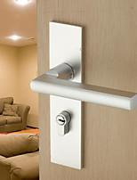 Dorlink® Modern Aluminum Silver Keyed Entry Door Lock