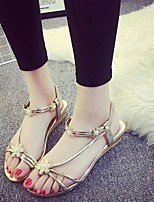 Women's Shoes Sweet Preppy Style Beach Flat Heel Comfort / Open Toe Sandals Dress / Casual