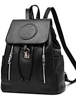 Women PU Baguette Shoulder Bag / Backpack / School Bag-Multi-color