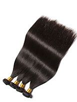 2016 On Sale Brazilian Virgin Hair Straight Hair 4Pcs 6A Virgin Straight Hair Remy Human Hair Weave Bundles