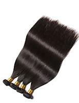 2016 in vendita capelli vergini brasiliani diritti dei capelli 4pcs 6a vergini capelli lisci capelli umani di Remy fasci tessere