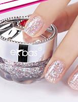 Ekbas Pink Glitters Nail Glue 13G Nail Polish