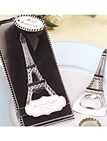 Paris Love La Tour Eiffel Chrome Bottle Opener Wedding Favors