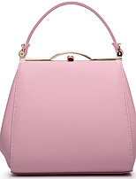 Women PU Hobo Tote-White / Pink / Blue / Yellow / Red