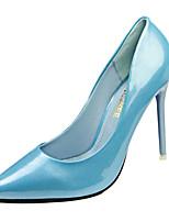 Zapatos de mujer-Tacón Stiletto-Tacones-Tacones-Casual-PU-Negro / Azul / Rosa / Morado / Rojo / Blanco / Plata / Oro / Coral / Almendra /