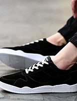 Men's Shoes Office & Career / Party & Evening/Athletic/Dress/Casual Synthetic Fashion Sneakers Black/Red/Gray
