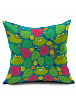 2016 New Arrival  Cotton/Linen Pillow Cover , Nature Modern/Contemporary  Pillow Linen Cushion985