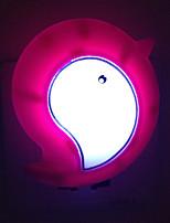 sensor de luz pássaro branco quente criativo relativo à luz bebê dormir a noite (cor aleatória)