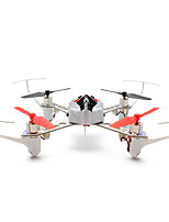 XK X100 With 3D 6G Mode Inverted Flight 2.4G 4CH 6 Axle LED RC Quadcopter mode2 BNF without Transmitter
