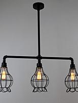 MAX60W Tradicional/Clássico Estilo Mini Pintura Metal Montagem do FluxoSala de Estar / Quarto / Sala de Jantar / Cozinha / Quarto de