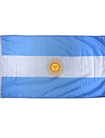 New 3X5 Feet Argentina Flag Large Polyester National Banner Indoor Outdoor Home Decor(Without flagpole)