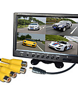 9 Inch Quad-TFT-LCD Car Rearview Monitor With Stand Reverse Backup Camera High Quality