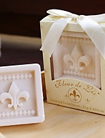 Paris Love Fleur-de-Lis Soap Wedding Gifts Baby Shower Favors BETER-XZ008