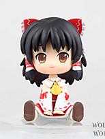 Touhou Project Reimu Hakurei PVC 11cm Figures Anime Action Jouets modèle Doll Toy