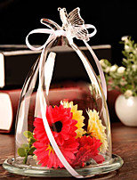 Pastoral Style Glass for Home Decoration 1pc/set(Vase only without Any Flower)