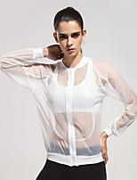 Running Tops / Tank / Jacket Women's Breathable / Quick Dry / Lightweight Materials / Sunscreen PolyesterCamping & Hiking / Fitness /