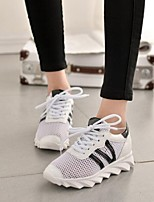 Women's Shoes Wire Side Breathe Freely Low Heel Comfort Fashion Sneakers Outdoor / Athletic / Casual