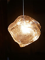 1 Heads Modern Minimalist Crystal Glass LED Pendant Lights Kitchen,Dining Room,Bars light Fixture