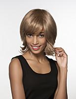 charmante evaginate capless longueur moyenne remy main de cheveux humains attachés perruques haut