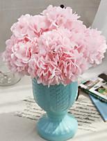 Silk Hydrangea Artificial Flowers Wedding Flowers Multicolor Optional 1pc/set
