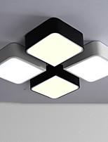 8W Montagem do Fluxo ,  Contemprâneo Pintura Característica for LED / Estilo Mini MetalSala de Estar / Quarto / Sala de Jantar / Cozinha