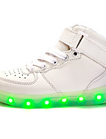 LED Shoes Boys' Shoes Athletic / Casual Synthetic Fashion Sneakers Black / Red / White
