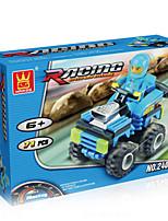 dr wan, Le jouet blocs voiture électrique casse-tête des blocs d'assemblage pour diy, 24083