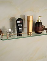 Bathroom Shelves,Gold Wall Mounted Glass Shelf,Bathroom Accessory