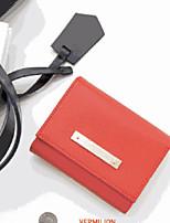 Travel WalletForTravel Storage PU Leather Blue / Red / Pink 11.5*9.2