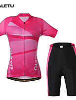 Conjuntos de Roupas/Ternos(Rosa) - deAcampar e Caminhar / Fitness / Ciclismo / Trilha / Motorbike-Mulheres-Respirável / Secagem Rápida /