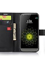 роскошь старинных бумажник флип пу кожаный чехол для LG g5 / g4 / g3 (разных цветов)